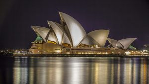 Sydney Opera House designed by Jorn Utzon